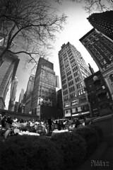 Day 1: Bryant Park - NYC (piddaz) Tags: park new york city nyc parco building canon united 7d states bryant grattacielo palazzo parc uniti unis citt strret gratteciel stati etats samyang8mm