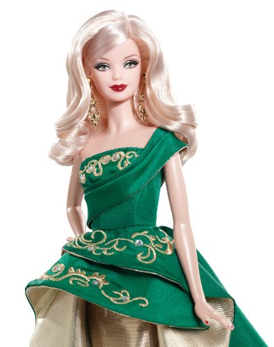 Barbie Collector 2011 Holiday Doll 2011典藏版假日芭比娃娃$21.5