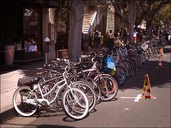 Sunday Bike Valet (Bicycle Fixation) Tags: mainstreet farmersmarket santamonica sunday bikevalet
