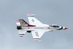F-16 Surprise Pass (benkuhns) Tags: aircraft jets hill performance airshow f16 planes f22 thunderbirds redbull mig 2012 p51 hillafb hillairforcebase hafb fj4 benkuhns warriorsoverwasatch2012