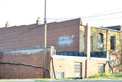 BANG (_cmoney_) Tags: richmond virginia va rva southside south side james river graffiti tag tagged bomb bomber piece throw up spray paint bang blackwell