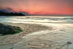 Rays of light (T_J_P) Tags: sunset sea sky color colour beach colors canon eos coast cornwall colours stives hitech porthmeor 1000d reversegnd09 tamron1750mmnonvc hardedgegnd06