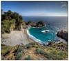 McWay Falls (Frank Kehren) Tags: california panorama beach canon waterfall pacific bigsur 24 f22 hdr juliapfeifferburnsstatepark mcwayfalls canoneos5dmarkii tse24mmf35lii