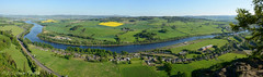 Kinnoull Hill View 2012-05-27b (G Davidson) Tags: panorama river scotland hill tay perth kinnoull