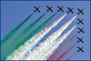 ...a beautiful day... (zio paperino) Tags: show roma fly nikon air volo pan ostia aermacchi frecce tricolori d90 ziopaperino mygearandme