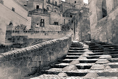 Steps - Explored - (Trattopen) Tags: travel italy geotagged explore matera fujix100