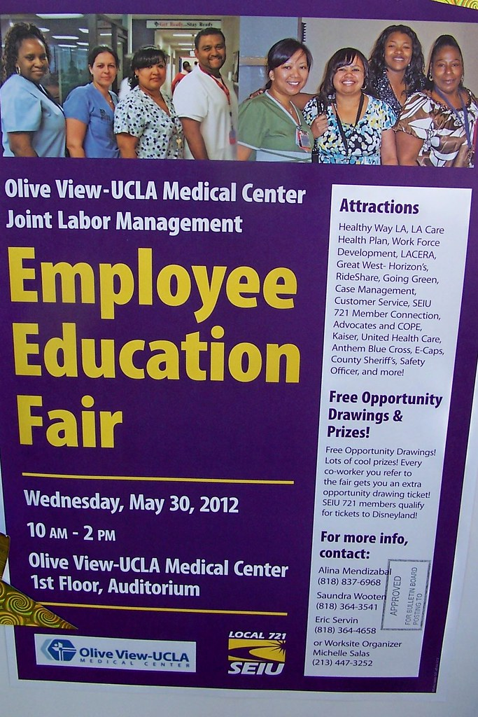 Olive View - UCLA Medical Center Employee Education Fair
