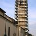 Primavera 2011 - Iniziano i lavori di restauro del campanile della parrocchiale