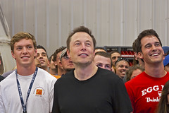 SpaceX CEO Elon Musk (Pooua) Tags: texas dragon nasa spaceship mcgregor spacex elonmusk falcon9 charlesbolden spaceexplorationtechnologiescorp