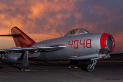 MiG-15 at the CAF Museum in Mesa, AZ (Tom_Morris Photos) Tags: arizona museum caf mesa mig15 azap