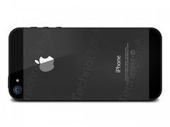 iphone 5 black back