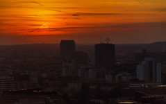 Der Himmel ber Berlin (Fil.ippo (AWAY)) Tags: sunset urban panorama sun berlin mercedes nikon tramonto cityscape filippo wenders berlino panoramapunkt d7000 filippobianchi