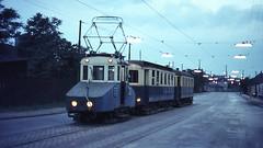 Once upon a time - Austria - Wien / Vienna / Vindobona (railasia) Tags: vienna austria nighttime depot interurban sixties shunting wlb elococoach
