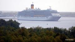 Costa Luminosa (Erich Kuhfeld) Tags: costa warnemnde rostock kreuzfahrtschiff pier7 breitling ostseebad warnow seehafen costaluminosa