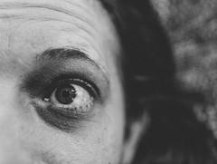 Eyes wide open (mripp) Tags: portrait people eye art out focus emotion kunst fear watch watching s human horror huge feeling senses sinn attention emotions watchdog psychology sense achtung sinne psychological focusing angs gefhl hottor