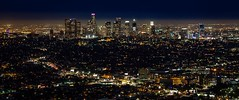 Los Angeles Skyline (@KevinCase) Tags: california city nightphotography sunset skyline la losangeles cityscape losangelesskyline urbanskyline citynight losangelescounty urbanscene cityofla indigosky buildingexterior canonphotography laskyline cityoflosangeles builtstructure kevdia kevincase