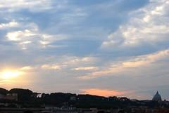 giardino degli aranci (sz1507) Tags: city sky rome roma tramonto nuvole nuvola cielo cupola sanpietro citt aventino giardinodegliaranci terrazza vistasuroma