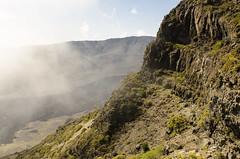 Ko'olau Gap II (rschnaible) Tags: park usa mountains landscape hawaii us tour pacific outdoor sightseeing gap maui tourist koolau national haleakala tropical tropics rugged