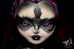 Ravyn (saijanide) Tags: bird dark skull high doll witch gothic goth queen after custom raven ever enchantress eah saijanide