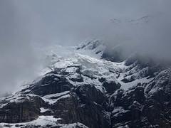 Hanging glacier (lvalgaerts) Tags: mountain landscape switzerland waterfall spring hike glacier valley hanging bern lauterbrunnen