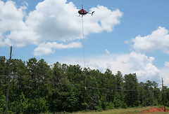 5 (Chris Usrey) Tags: flying cool dangerous power aviation line helicopter maintenance exciting httpwwwrotorbladecom