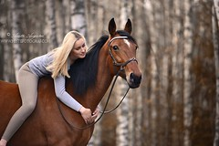 Love (Hestefotograf.com) Tags: show friends summer horse white black girl norway bareback jump mare dress lets hannah go run riding pony barefoot welsh arabian elegant cob bestfriend rider equestrian canter equine equus equipage skien