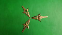 Titanium Arrowheads (TitaniumSoul) Tags: handmade x diamond titan ti arrowhead broadhead dlux4 titaniumsoul