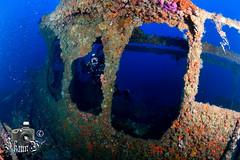 Naranjito Wreck (ShaunMYeo) Tags: espaa spain espanha scubadiving espagne cabodepalos spanien spagna spanje spnn spania underwaterphotography  espanya  hispania hiszpania ispanija espanja ispanya spanyolorszg panlsko ikelite hispaania underwaterphotographer spanyol  hispanio    spanja ispaniya sepanyol  panija panielsko  espainiako     spinn  espay   spnija  spanj