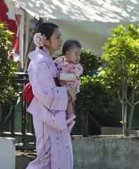 Mother and Daughter - D7K_2172_ep (Eric.Parker) Tags: baby japan temple sensoji tokyo costume daughter mother geisha kimono asakusa sanjamatsuri 2016