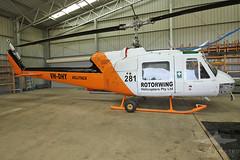 VH-DHY BELL UH-1B HUEY (QFA744) Tags: vhdhy bell uh1b huey