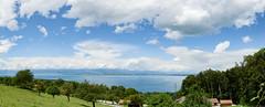 Leman lake (schatanay) Tags: panorama france canon lac evian paysage lman fr eos350d hautesavoie rhonealpes publier ef2470mmf28liiusm auvergnerhnealpes
