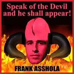 Asshola Main 26 Devil2 (KnixTix) Tags: ny fire idiot lucifer hell horns asshole psycho satan devil troll msg madisonsquaregarden reddevil fool jackass knicks dailynews speakofthedevil nyk jamesdolan asshead frankasshola frankisola knixtix