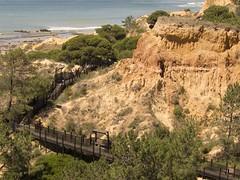 300 Treppen zum Strand Olhos d'Agua (esseffdeearr) Tags: portugal algarve olhos dagua riu guarana praia da falesia albufeira portimao vacation