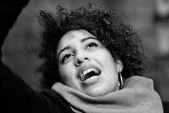 Fun (Gerd Trynka-Ottosohn) Tags: ottosohnfoto napoli gerdtrynka italia bw portrait nightshot sw birthdayparty geburtstag ausgelassen hilarious freude joy lachen smile delighted fun streetphotography fujixt10 xf56mmf12
