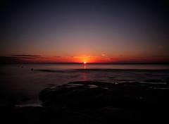 Sunset (densshod) Tags: sweden sky sun summer sunlight sunset sunburst outdoor olympus ocean longexposure color halmstad