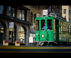 "26/ 50 ""Tram-Oldtimer"" (Mirko.Eggert) Tags: 50mm schweiz tram basel marktplatz 50mmproject twittographers nikond7000"