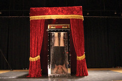 Harry Houdini's Chinese Water Torture Cell (SherryandKrallMagic) Tags: water television escapes biopic houdini adrianbrody historychannel jimcollins breathhold chinesewatertorturecell richardsherry watertorturecell hardeen kristenconnolly daylekrall ladyhoudini sherryandkrall mostaccomplishedfemaleescapeartist ultimatefemaleescapeartist movies2014 historychannelhoudini houdinibiography