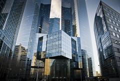 Puissance de la finance (Osbern) Tags: paris architecture domination moderne immeuble défense quartier gratteciel contemporain xxesiècle