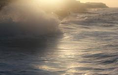 Painted sea (DavidStGr) Tags: sea storm wet paint northsea esplanade hightide cromer seadefences northnorfolk