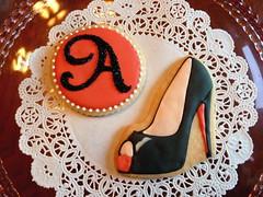 Custom B-Day Cookies