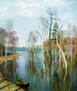 Isaac Levitan. Spring. High Water. (Lenochka55 Thank you for 1,200,000 + views) Tags: treesubject