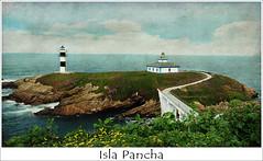 Los faros de la Isla - La Isla de los faros (Geli-L) Tags: flores textura faro mar galicia isla soe ribadeo islapancha