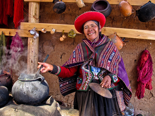 Laugh out loud ! Chinchero village - Sacred valley - Peru