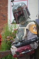 Bobba Fett (heathervesta) Tags: comics starwars costume batman stormtrooper freecomicbookday costuming troop sandtrooper sylva bobbafett