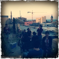 On the roof, Hostel Old Jaffa, Jaffa/Tel Aviv
