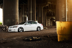Vossen Wheels - CV3 (Ronaldo.S) Tags: honda accord 50mm nikon f14 low wheels sigma flare slammed cv3 vosse d700