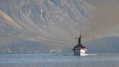 TSS Earnslaw Steamer (blue polaris) Tags: new lake island boat south central lakes steam southern zealand nz otago queenstown steamer wakatipu earnslaw tss