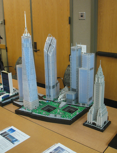 JSR's LEGO WTC Model at Brickbash 2012 - a photo on Flickriver