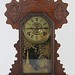 231. 19th Century Oak Kitchen Clock