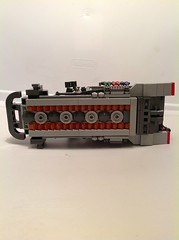 Bottom (Leafix) Tags: lego scifi m3halftrack legohalftrack
